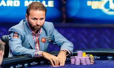 Daniel Negreanu at Poker Table